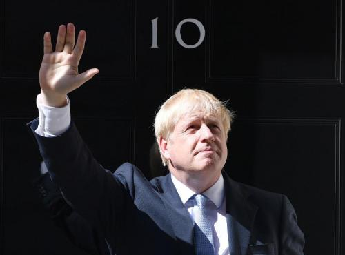 Boris Johnson, Number Ten Downing Street