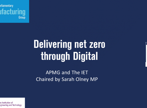 Delivering net zero through Digital