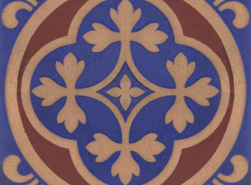 Pugin Tiles - House of Commons