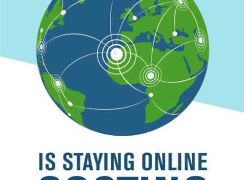 Is staying online costing the earth?