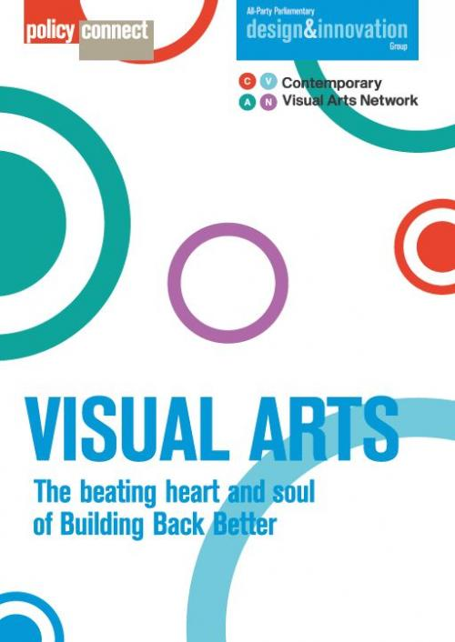 Front cover of Visual Arts report